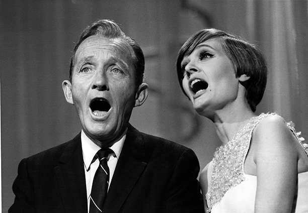 Florence Henderson With Bing Crosby on The Hollywood Palace on April 20, 1968