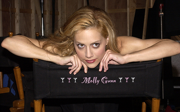 Brittany Murphy Filming Molly Gunn in New York on August 2, 2002