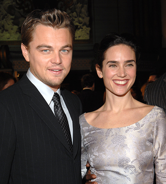 Leonardo DiCaprio With Jennifer Connelly at the Blood Diamond Los Angeles Premiere on December 6, 2006