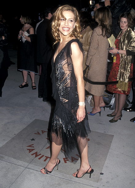 Brittany Murphy at the Eighth Annual Vanity Fair Oscar Party in West Hollywood on March 25, 2001