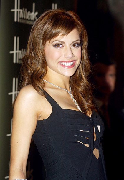 Brittany Murphy at Harrods' 2005 Summer Sale in London on June 27, 2005