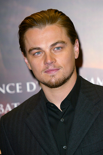 Leonardo DiCaprio at the Gangs of New York Premiere in Paris on January 6, 2003