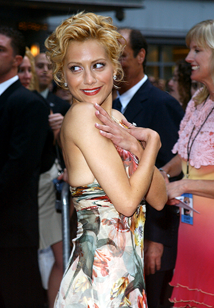 Brittany Murphy at the Little Black Book New York Premiere in New York City on July 21, 2004