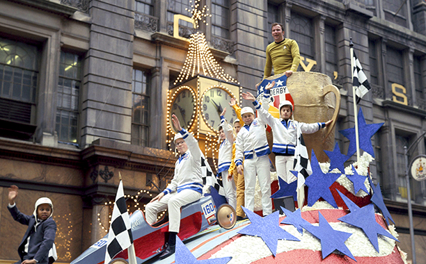 William Shatner at The Macy's Thanksgiving Day Parade in 1968