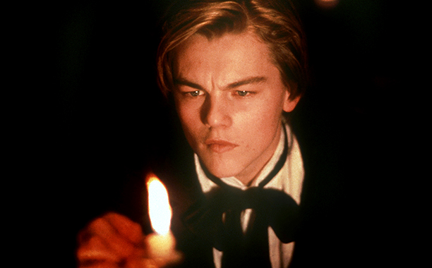 Leonardo DiCaprio in Total Eclipse in 1996