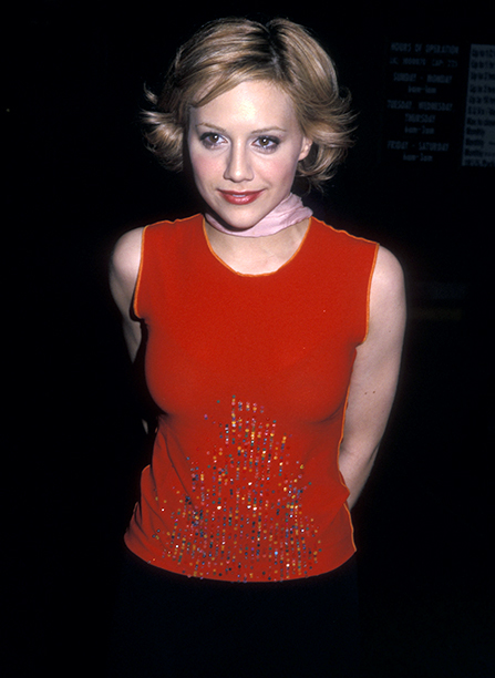 Brittany Murphy at the True West Opening Night Performance in New York City on March 9, 2000