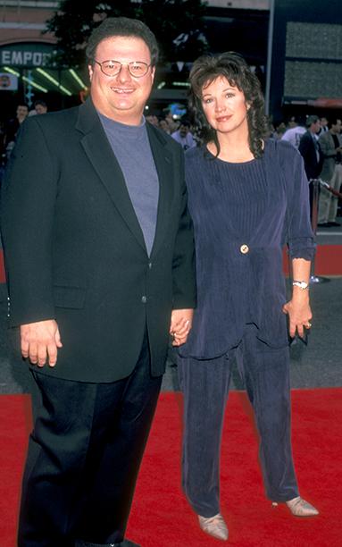 Wayne Knight and Paula Sutor