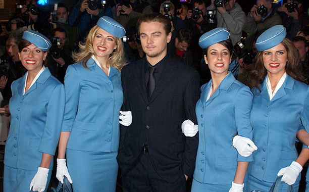 Leonardo DiCaprio at the London Premiere of Catch Me If You Can on January 27, 2003