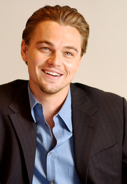 Leonardo DiCaprio at The Aviator Press Conference in Los Angeles on November 20, 2004