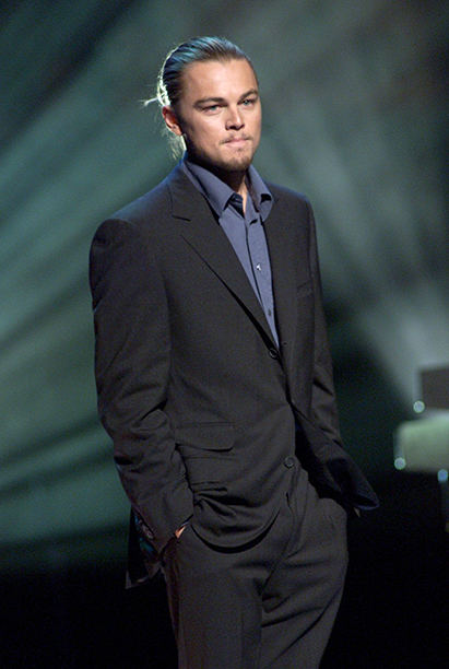 Leonardo DiCaprio at The Concert for New York City on October 20, 2001