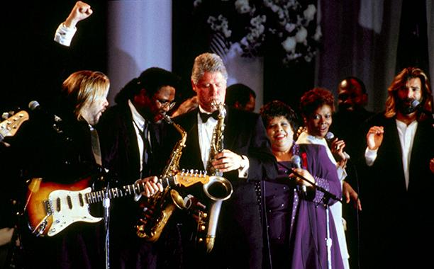 Bill Clinton at Bill Clinton's Inaugural Ball in 1993