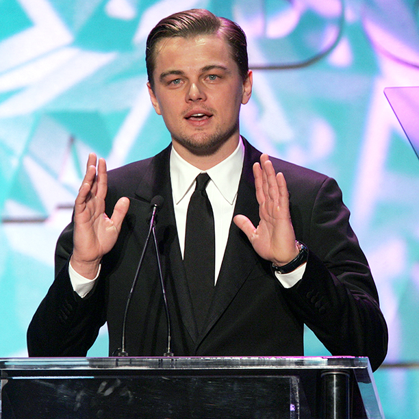 Leonardo DiCaprio at the 57th Annual DGA Awards Dinner in Beverly Hills on January 29, 2005