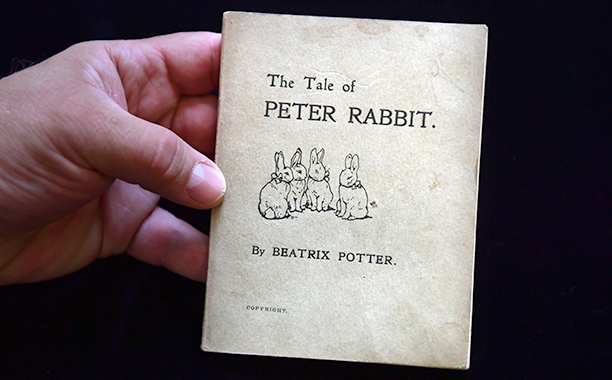 The 1901 First Edition of The Tale of Peter Rabbit