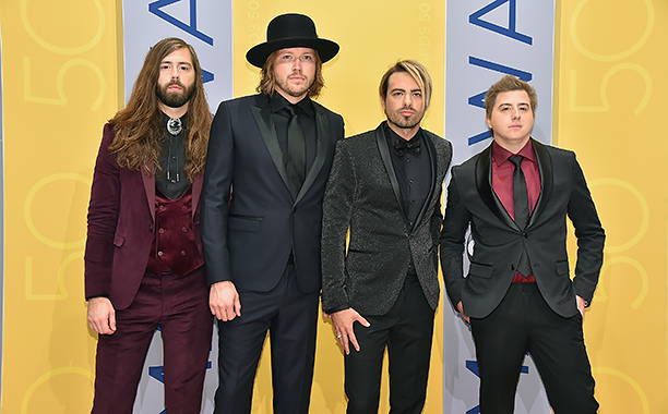 Graham DeLoach, Michael Hobby, Zach Brown, and Bill Satcher of A Thousand Horses