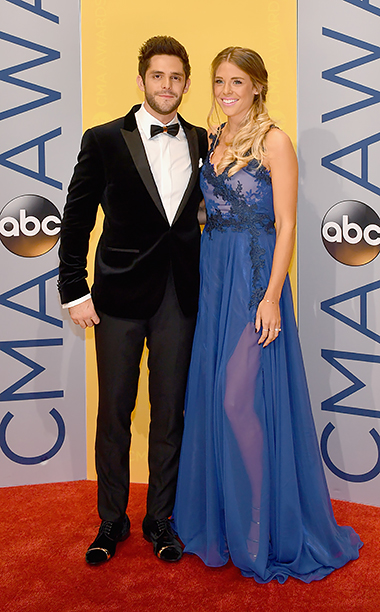 Thomas Rhett and Lauren Gregory