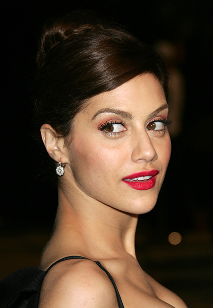 Brittany Murphy at the 2007 Vanity Fair Oscar Party in West Hollywood on February 25, 2007