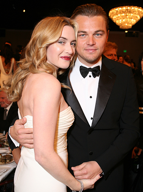 Leonardo DiCaprio With Kate Winslet in Beverly Hills on May 22, 2013
