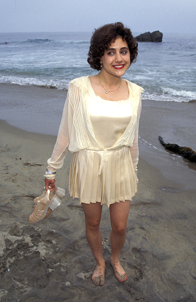 Brittany Murphy at the Clueless Premiere and Beach Party on July 7, 1995