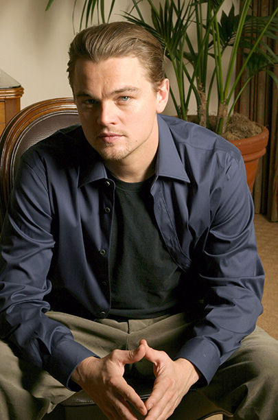 Leonardo DiCaprio on November 20, 2004