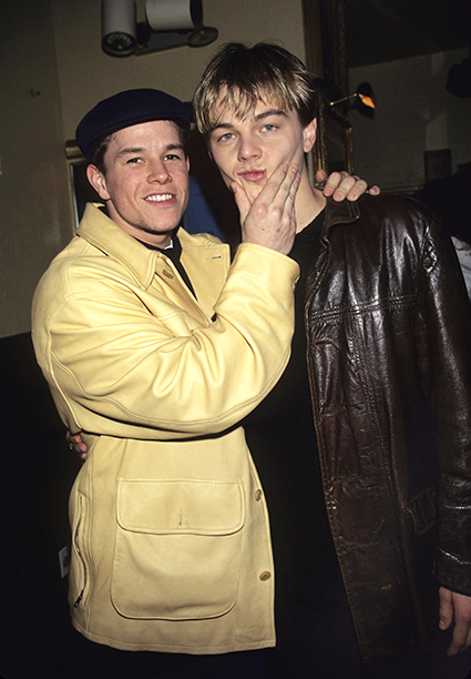 Leonardo DiCaprio With Mark Wahlberg in 1995