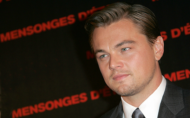 Leonardo DiCaprio at the Paris Premiere of Body Of Lies on November 3, 2008