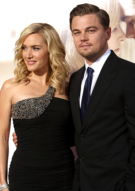 Leonardo DiCaprio With Kate Winslet at the Los Angeles Premiere of Revolutionary Road on December 15, 2008