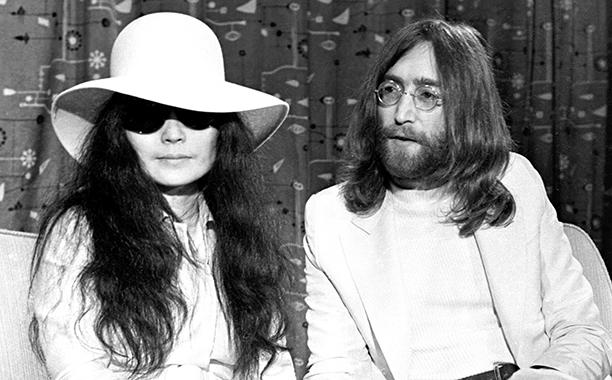 John Lennon and Yoko Ono in 1969