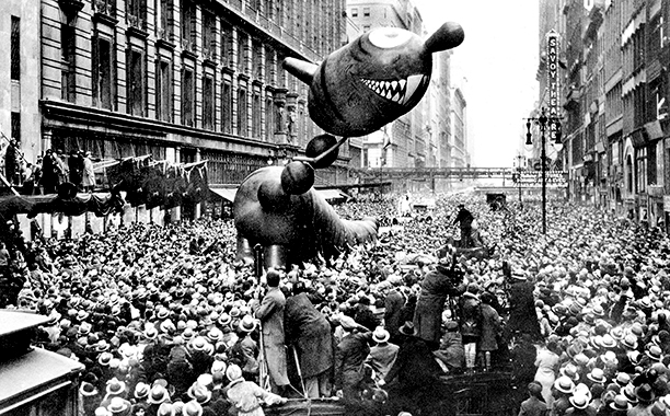 The Macy's Thanksgiving Day Parade in 1931