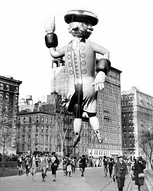 The Macy's Thanksgiving Day Parade in 1936