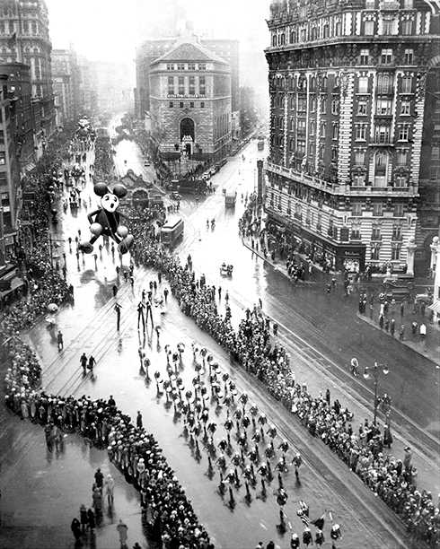 The Macy's Thanksgiving Day Parade in 1934