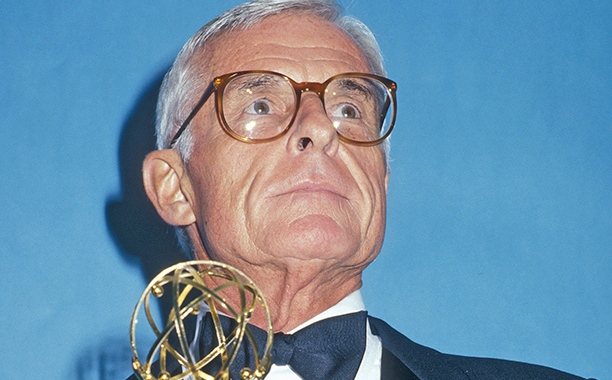 ALL CROPS: 162346371 Grant Tinker attends the 39th Annual Primetime Emmy Awards on September 20, 1987 at Pasadena Civic Auditorium in Pasadena, California. (Photo by Ron Galella, Ltd/WireImage)