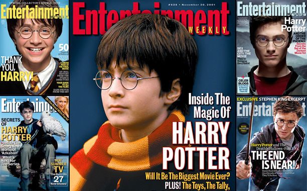 Fifteen Years of 'Harry Potter' Covers