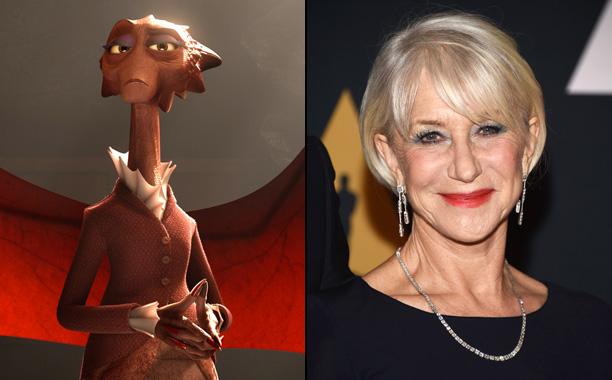 Helen Mirren in Monsters University