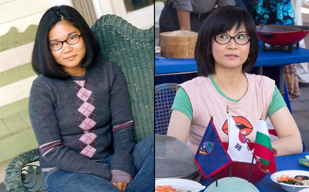 Keiko Agena as Lane Kim in Season 1; Keiko Agena as Lane Kim in A Year in the Life