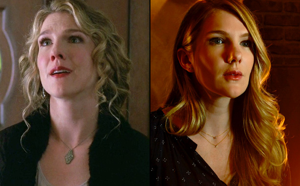 Lily Rabe as Nora Montgomery in American Horror Story: Murder House, Lily Rabe as Shelby in American Horror Story: Roanoke