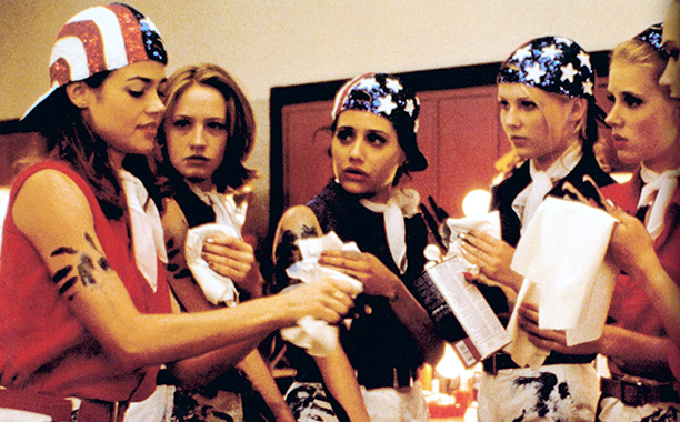 Brittany Murphy With Denise Richards, Kirsten Dunst, and Amy Adams in Drop Dead Gorgeous in 1999