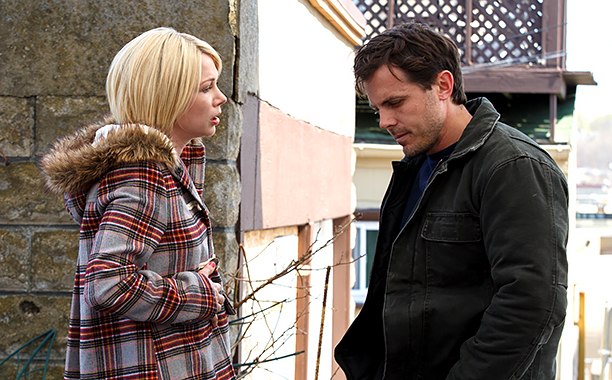 ALL CROPS: MANCHESTER BY THE SEA (2016) Michelle Williams and Casey Affleck (CR: Claire Folger)
