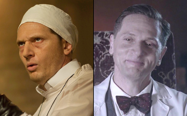 Matt Ross as Dr. Charles Montgomery in American Horror Story: Murder House, Matt Ross as Dr. Charles Montgomery in American Horror Story: Hotel,