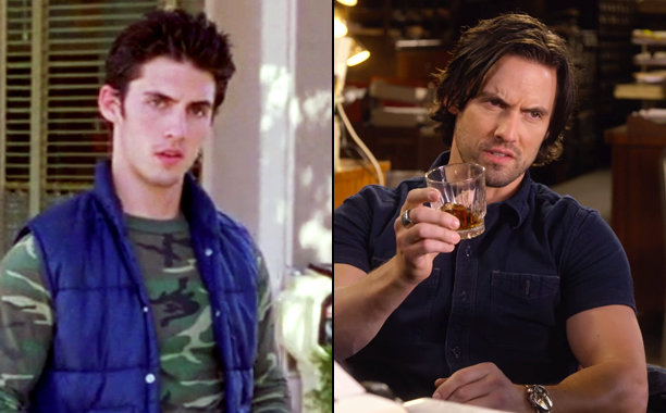 Milo Ventimiglia as Jess Mariano in Season 2; Milo Ventimiglia as Jess Mariano in A Year in the Life