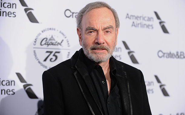 ALL CROPS: 624039758 Neil Diamond attends the Capitol Records 75th anniversary gala at Capitol Records Tower on November 15, 2016 in Los Angeles, California. (Photo by)