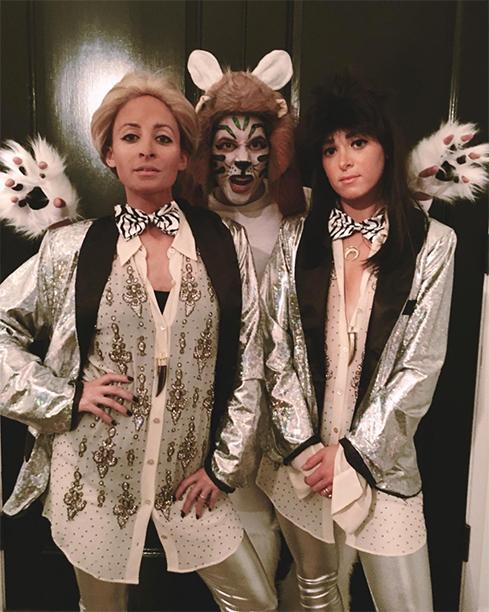 Nicole Richie as Siegfried & Roy