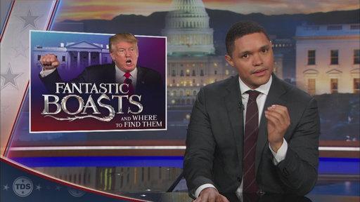 Trevor Noah on Trump's lies