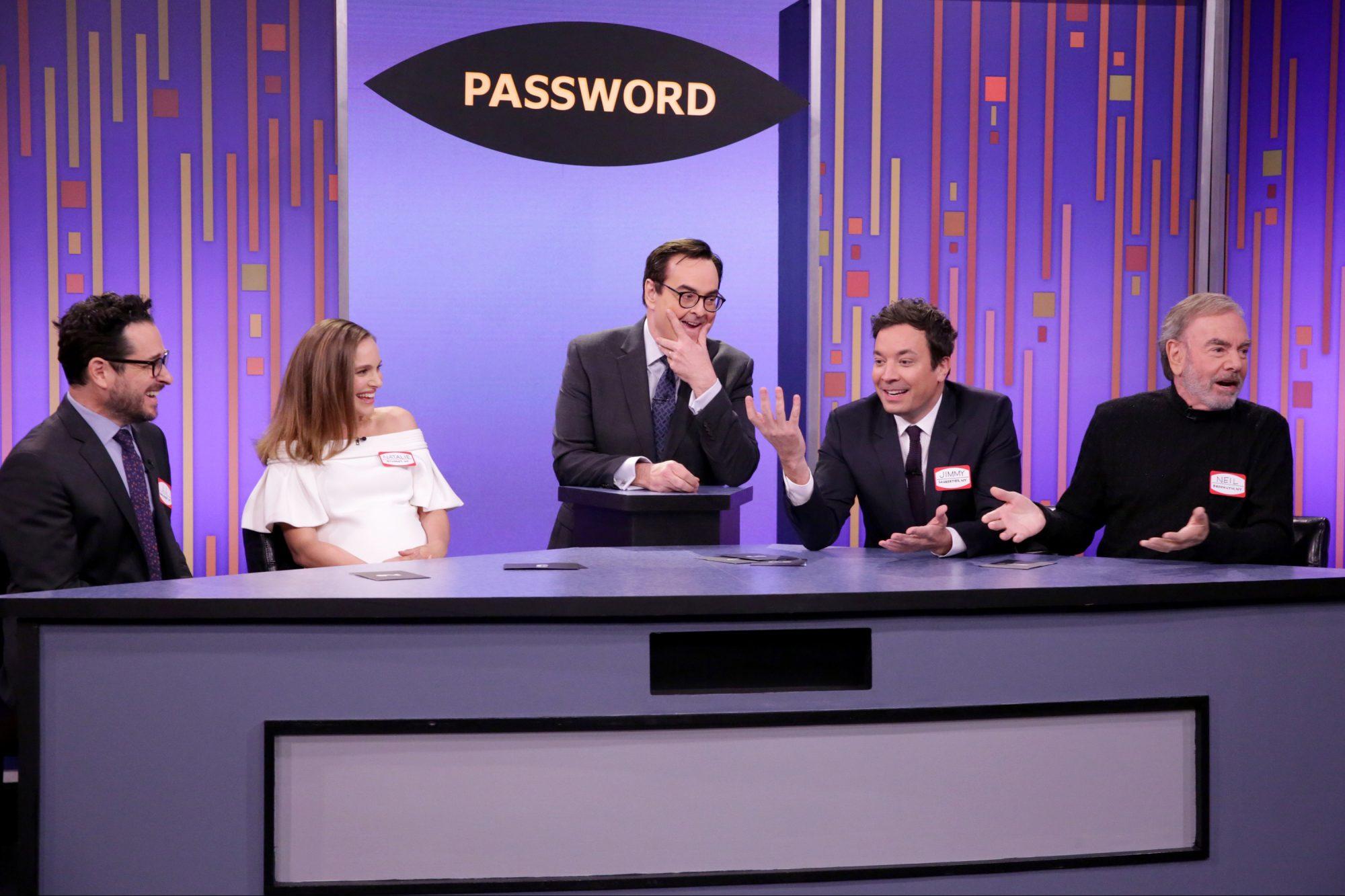 Password on Fallon