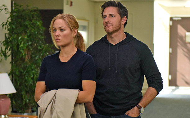 ALL CROPS: PARENTHOOD Episode: How Did We Get Here Episode 610 Air Date: January?8, ?2015 Pictured: (l-r) Erika Christensen as Julia Braverman-Graham, Sam Jaeger as Joel Graham