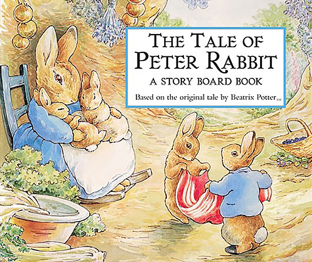 Board Book Edition of The Tale of Peter Rabbit