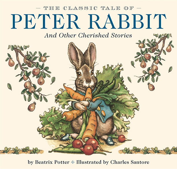 Edition of The Tale of Peter Rabbit Illustrated by Charles Santore