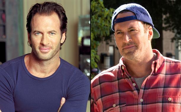 Scott Patterson as Luke Danes in Season 1; Scott Patterson as Luke Danes in A Year in the Life