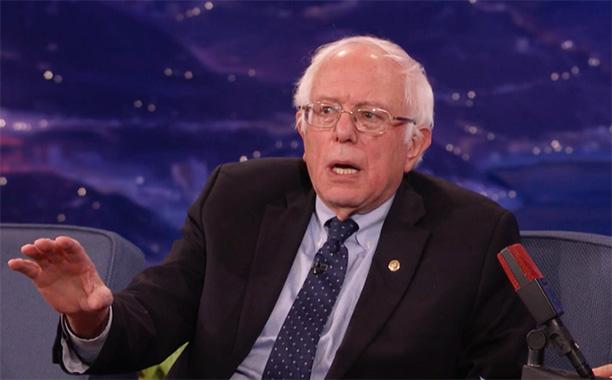 All Crops: Bernie Sanders Conan Screengrab