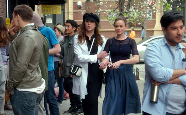 """Lorelai's Hat and Rory's Ensemble (Episode 2: """"Spring"""")"""
