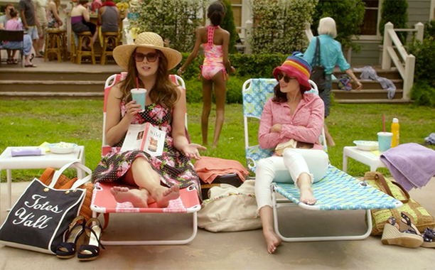 """Lorelai and Rory's Hats (Episode 3: """"Summer"""")"""